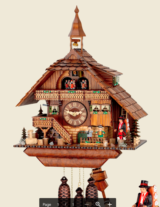 8-day Cuckoo clocks available in South Africa