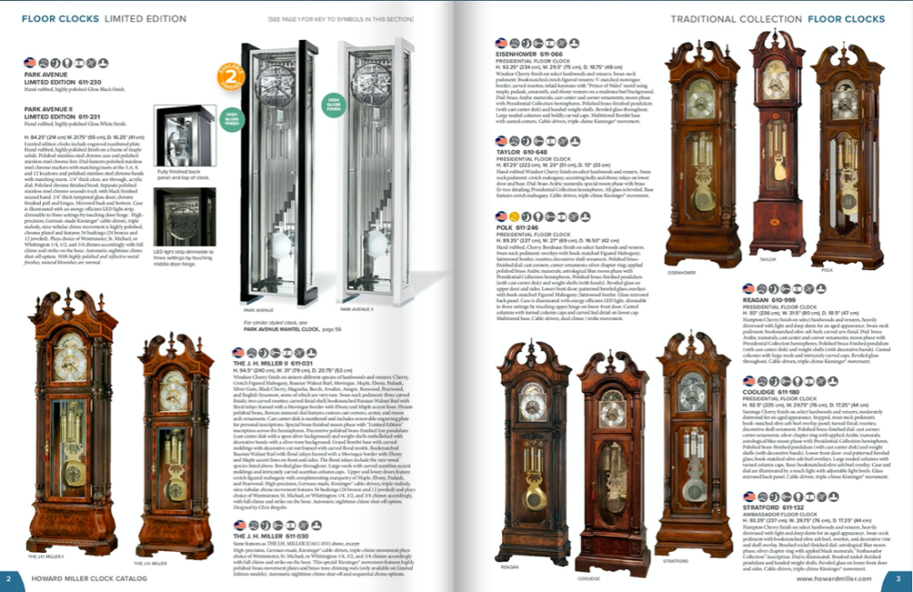 Howard Miller Grandfather Clocks for sale in South Africa